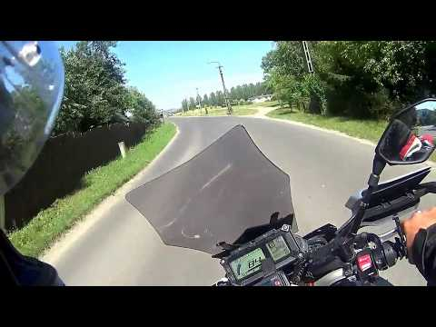 slovakia poland motorcycle adventure 29 countries 19000km yamaha mt09 tracer