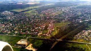 Взлёт самолета/Львов - Анталия/Львовский аэропорт/ Полное видео взлёта.