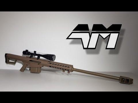 GALAXY G31D BARRETT M82A1 / BIG AIRSOFT ON A BUDGET!