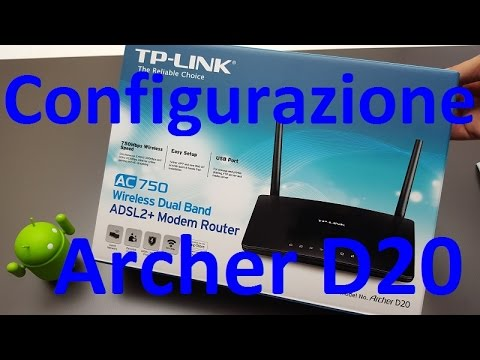 TP-Link Archer D20 V1 Router New