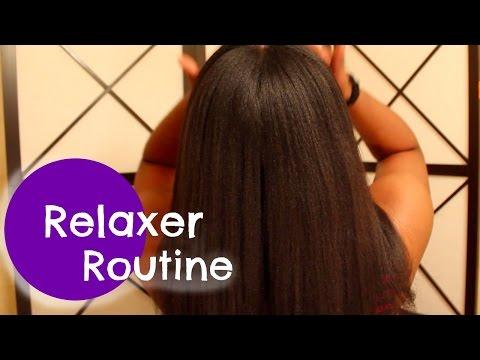 Relaxer Routine (tutorial)