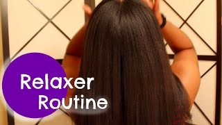 Relaxer Routine (tutorial)
