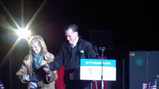 Mitt Romney Rally in Yardley, PA-1/1