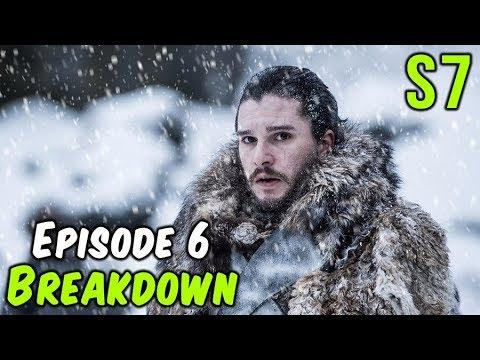 Season 7 Episode 6 Breakdown! (Game of Thrones)