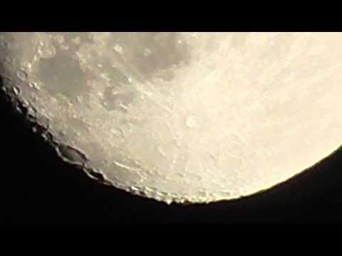 Луна в 300х приближении (Moon 300x zoom)