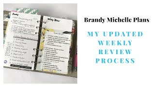 Plan with Me: Weekly Review (GTD)