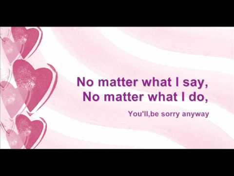 Tata Young - Sorry Anyway (lyrics)