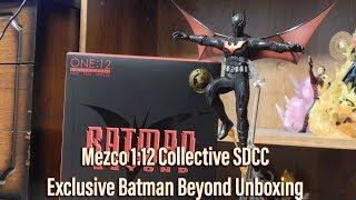 Mezco 1:12 Collective SDCC Exclusive Batman Beyond Unboxing