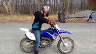 2012 TTR110 Review and Ride