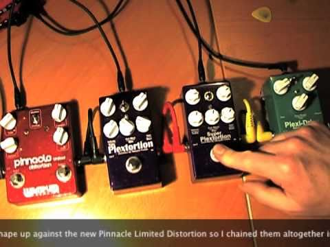 Wampler Pedals: Plexi pedals v Pinnacle LTD (Thru CM Rock Bug)