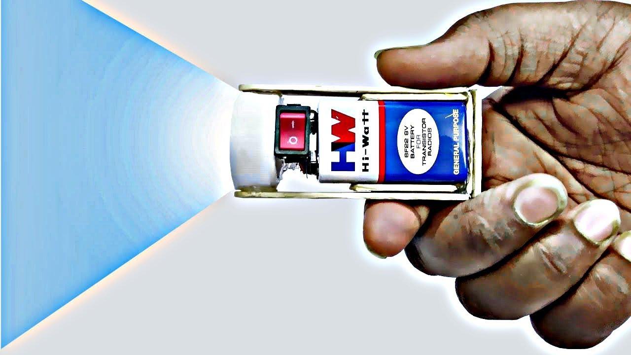 Brightest Flashlight : Super bright led flashlight DIY ...