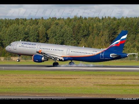Landing at SIBERIA, Irkutstk Intenational Airport