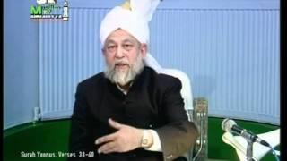 Francais Darsul Quran 10th March 1994 - Surah Yoonus verses 38-40 - Islam Ahmadiyya