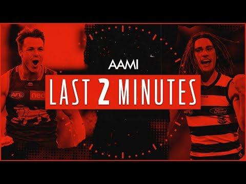 Brisbane V Geelong | Round 22, 2019 | AAMI Last Two Minutes | AFL