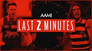 AAMI Last Two Minutes | Brisbane v Geelong | Round 22, 2019 | AFL