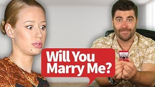 IGGY AZALEA WILL YOU MARRY ME? Wedding Proposal.... ( Not clickbait )