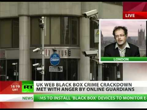 "UK ""Black Box"" SPYING on people PERSONAL data and KEEPING YOU IN CONTROL"