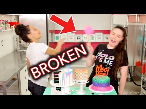 Oops I Broke Her Kitchen | Outtakes ft. How To Cake It