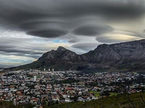 UFO Cluds Spotted Over South Africa