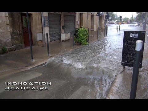 Inondation Beaucaire 03-10-2015