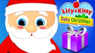 Fun Pet Animal Kitten Care - Baby Christmas Santa & Reindeer Decorate Baking Kids Games