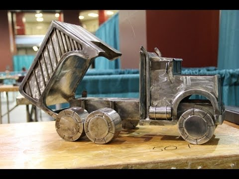 Welding Art Amp Sculptures Skillsusa Youtube