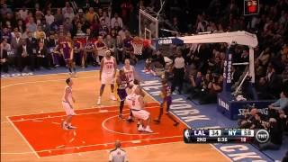 12 13 2012   Lakers vs  Knicks   Team Highlights