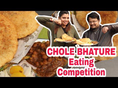 Nagpal Chole Bhature Competition With Foodaniya | Sadigaddi