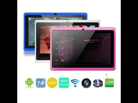 Flash Chinese Android Tablet (Allwinner A13)