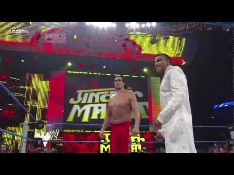 Jinder Mahal debut match and theme smackdown 3/6/2011 HD