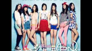 [MP3 DOWNLOAD] A Pink- Boo w/ Romanized & English Lyrics