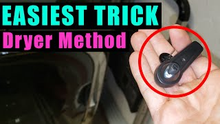 REMOVE SECURITY TAG FAST!!! | Drỳer Method