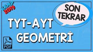 TYT-AYT Geometri Son Tekrar | Kamp2019