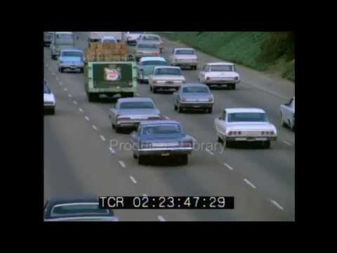 Los Angeles Traffic in 1973
