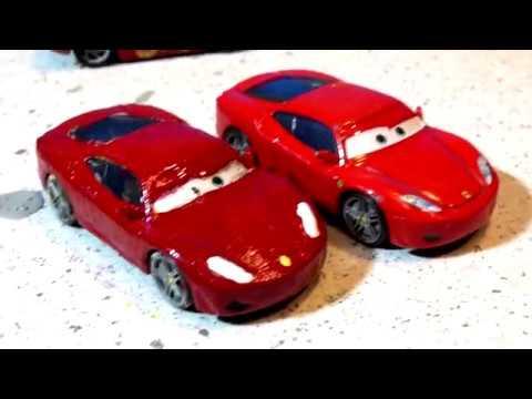 Pixar Cars Michael Schumacher Custom Red Ferrari Youtube
