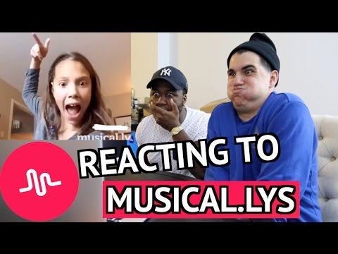 REACTING TO MUSICAL.LYS! (MOST CRINGEY)