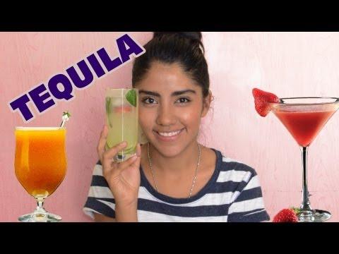 4 Bebidas con tequila en menos de 5 minutos | Bebidas preparadas con alcohol para fiestas