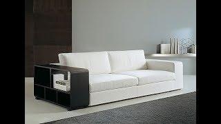 Italian Leather Sectional Sofa,