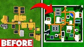 Minecraft Tutorial: Entire Modern Village Transformation !!!