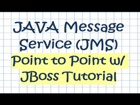 JAVA Message Service (JMS) Point To Point W/ JBoss Tutorial