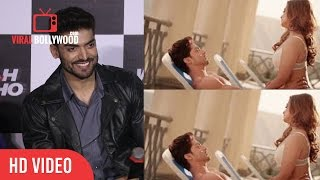 Gurmeet Choudhary on  Debina Bonnerjee Reaction | Wajah Tum Ho Hot And Bold Scenes