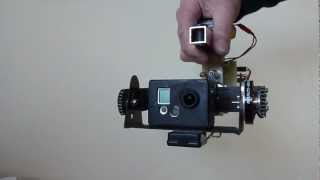 Brushless Gimbal (2) Gopro Hd Hero 2 Camera