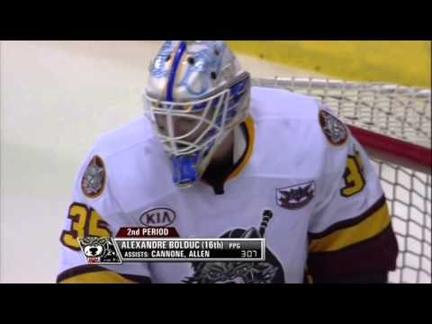 Chicago Wolves vs Rockford IceHogs April 13 2014