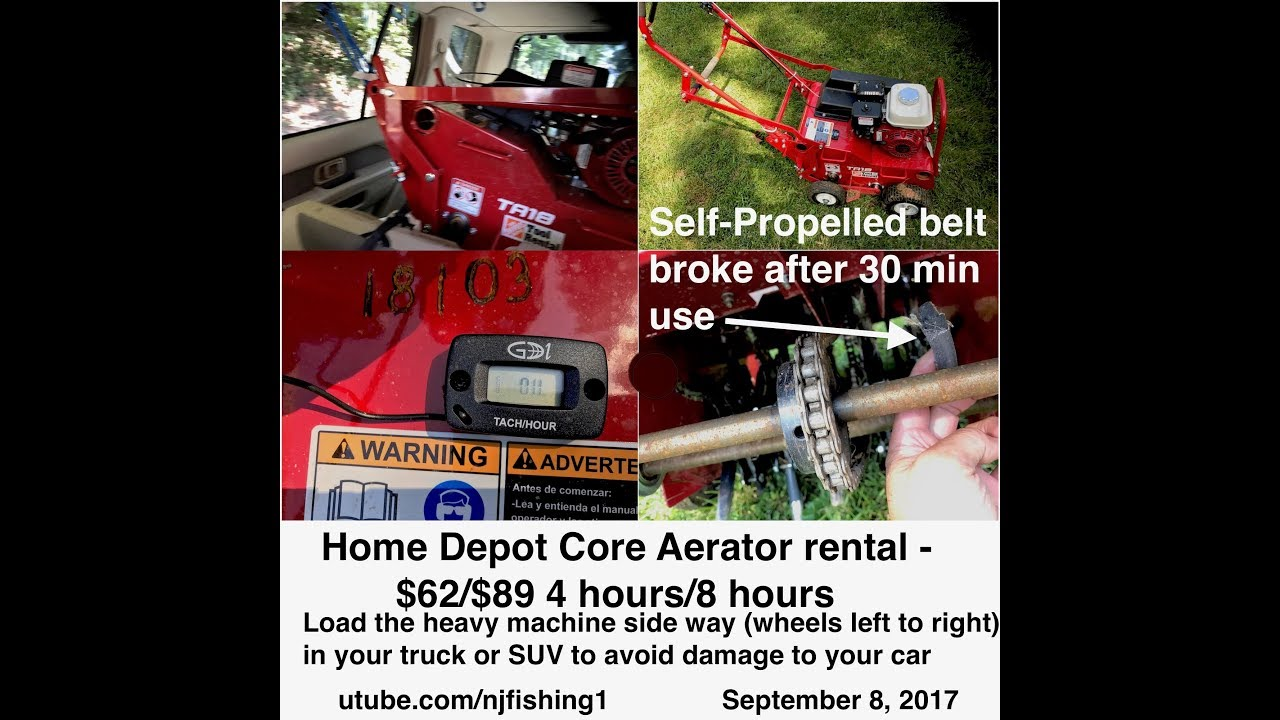 Manual Aerator Home Depot