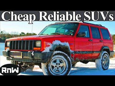 Top 5 Reliable SUVs Under $3000 - Cheap Used SUVs for Less Than 3k