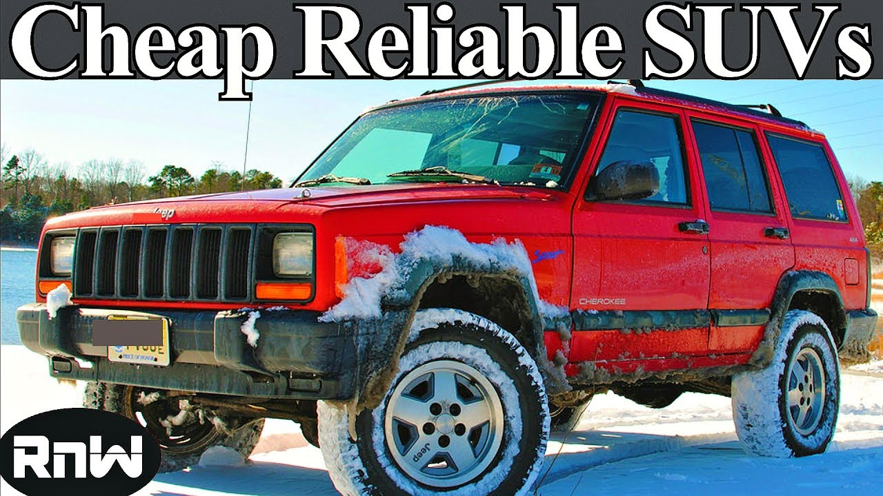 Top 5 Reliable SUVs Under $3000 - Cheap Used SUVs for Less Than 3k ...