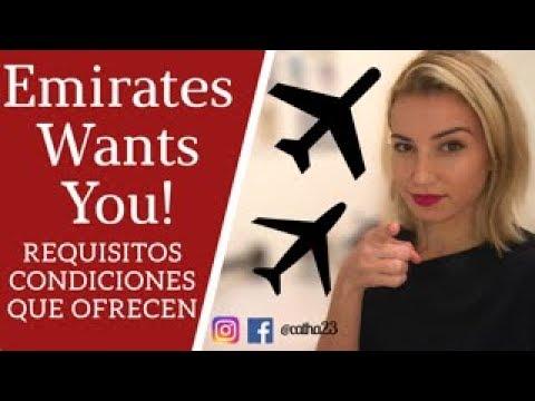 Emirates 2018 | REQUISITOS | CONDICIONES | QUÉ OFRECEN ?