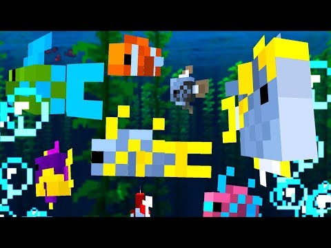 How To Get All 2,700 Tropical Fish In Minecraft