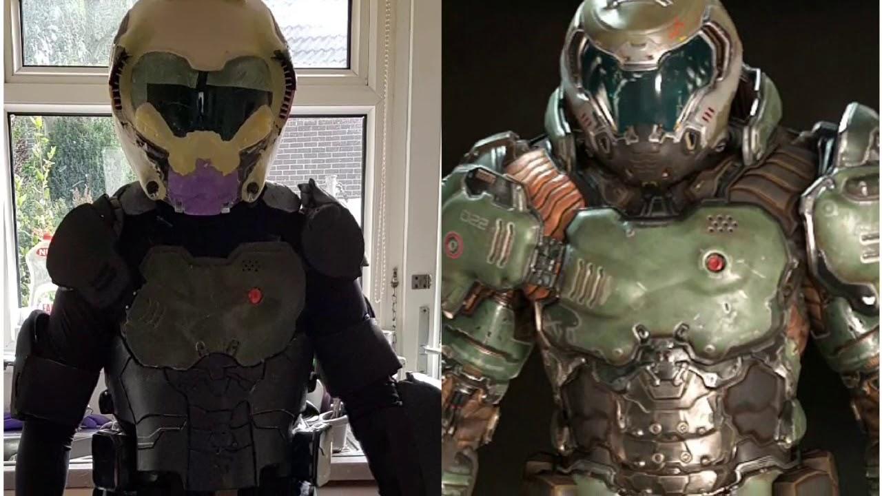 Doom Slayer Cosplay Build Cuitan Dokter