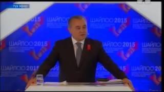 Текебаев менен Мадумаровдун айтышы   КТРК   26 09 15